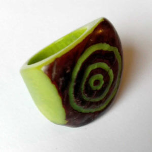 tagua lime ring