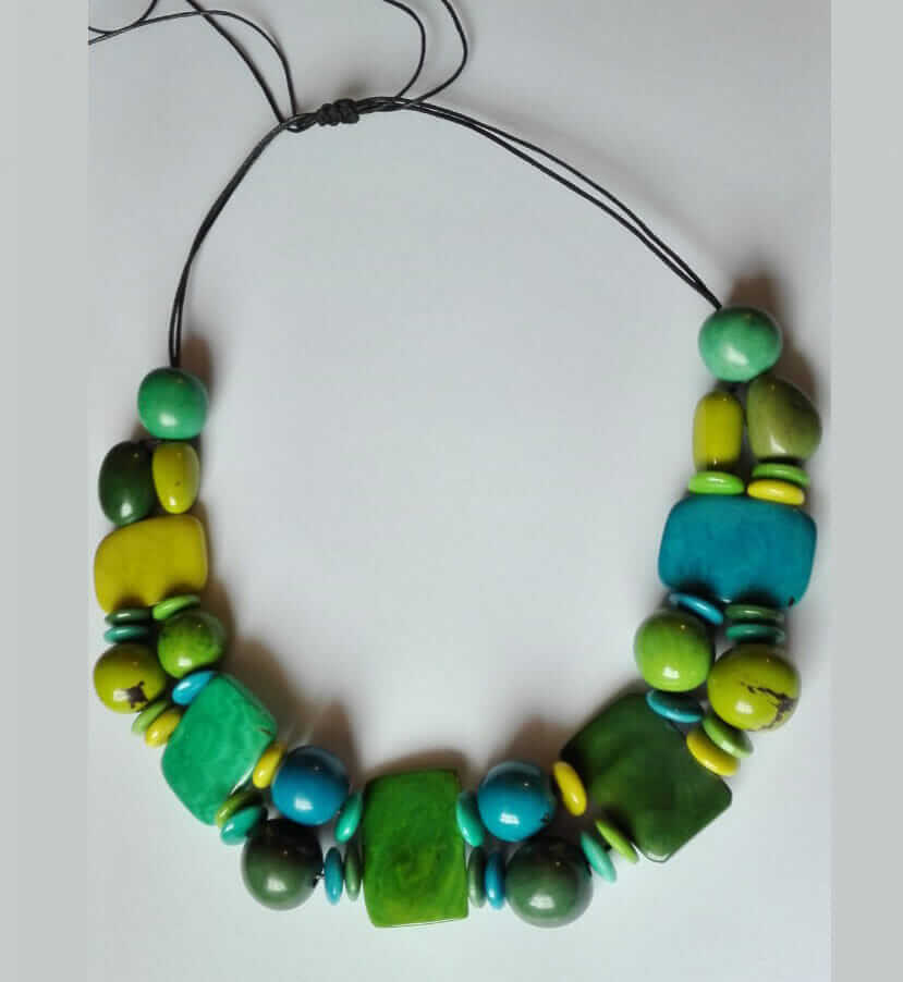 Tagua Necklace handmade