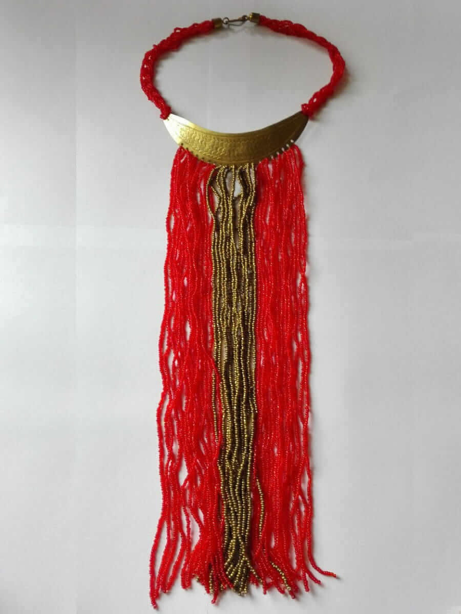 Masai style necklace