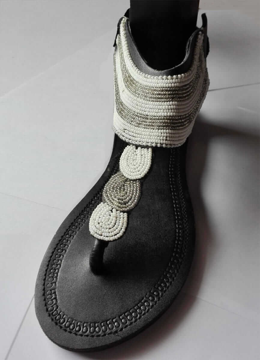 Leather shoes Africa