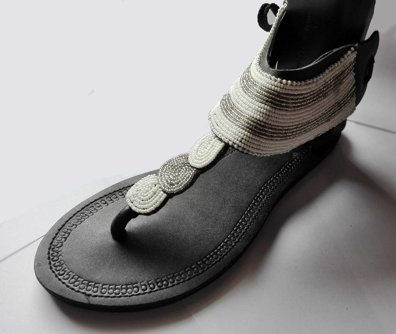 Leather sandals Africa