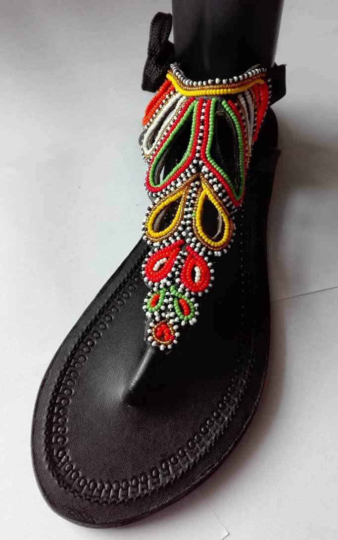 Leather sandals Kenya Africa
