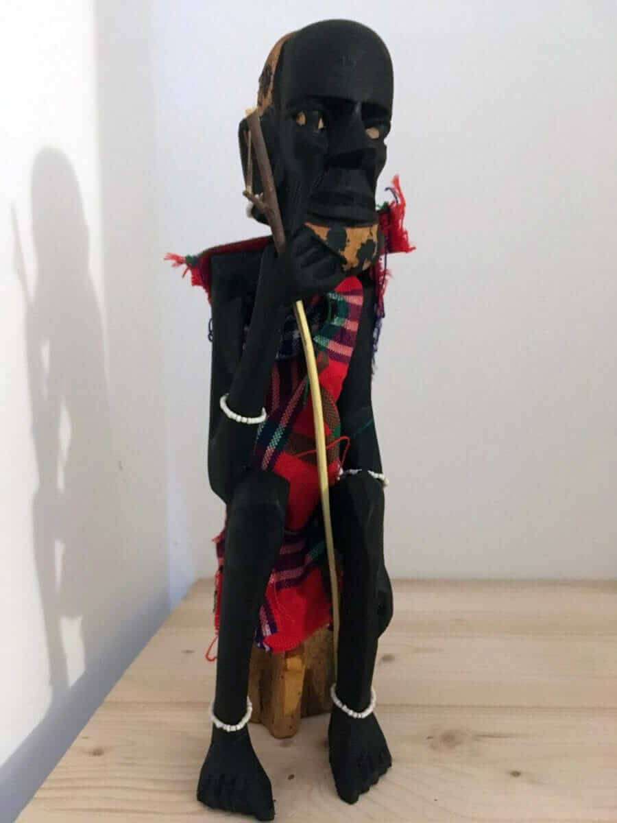 Large Masai Statue from Kenya