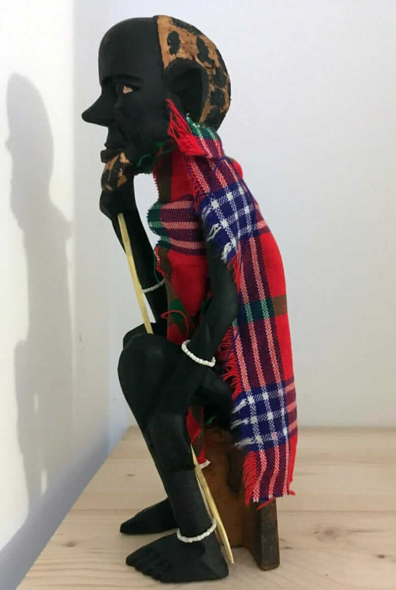Large Masai Statue made in Africa