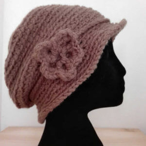 Crochet Cap Made in Italy