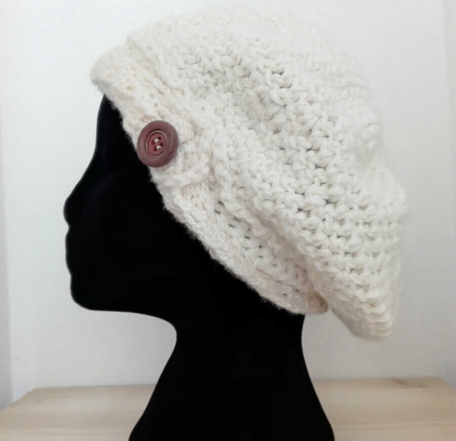 Italian Crochet Hat - Wool