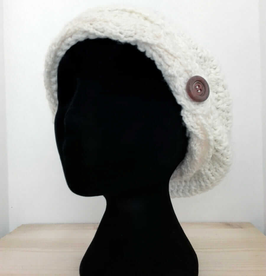 Crochet Hat - Wool