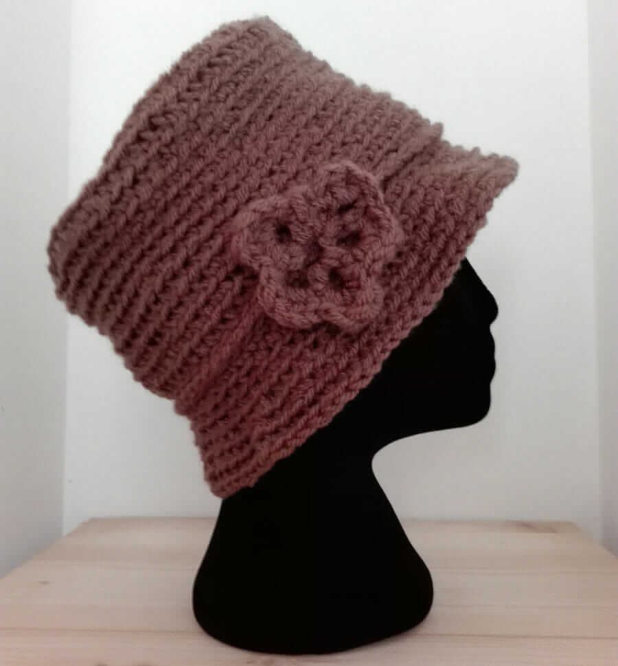 Crochet Hat made in Italy