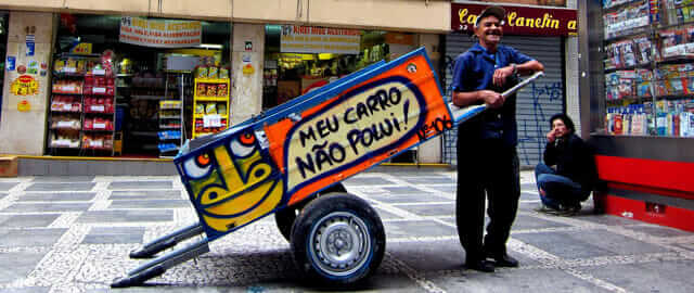 Pimp my Ride - waste recycling Brazil